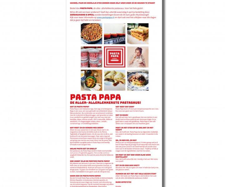 PDF van Pasta Papa